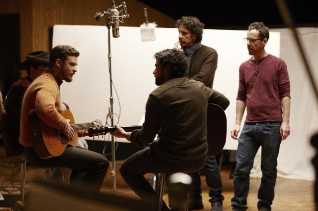 Adam Driver, Justin Timberlake, Oscar Isaac, Joel Coen, Ethan Coen 'Inside Llewyn Davis' (2013)