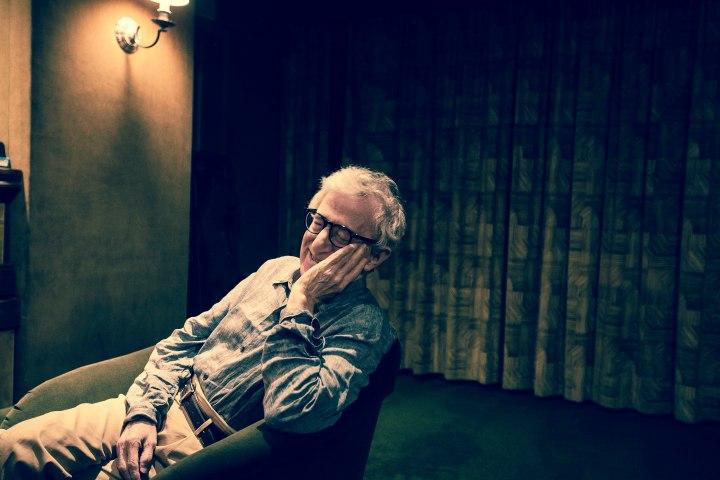 Woody Allen CREDIT: Emily Assiran/New York Observer
