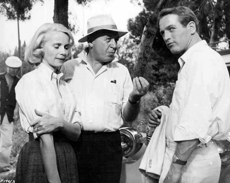 "Eva Marie Saint, Otto Preminger & Paul Newman ""Exodus"" (1960)"