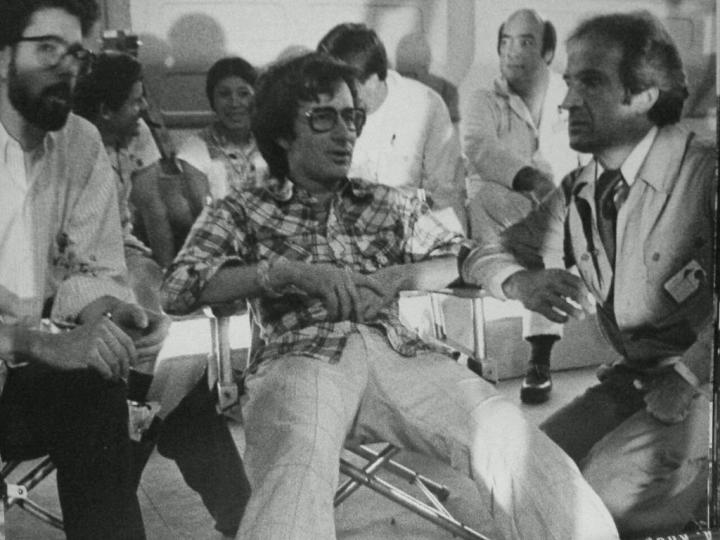 "George Lucas, Steven Spielberg, François Truffaut ""Close Encounters of the Third Kind"" (1977)"