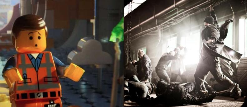 """""""The Lego Movie"""" Warner Bros./""""Snowpiercer"""" The Weinstein Company"""