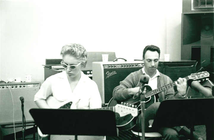 Wrecking Crew musicians Carol Kaye and Bill Pitman I Photo courtesy Magnolia Pictures