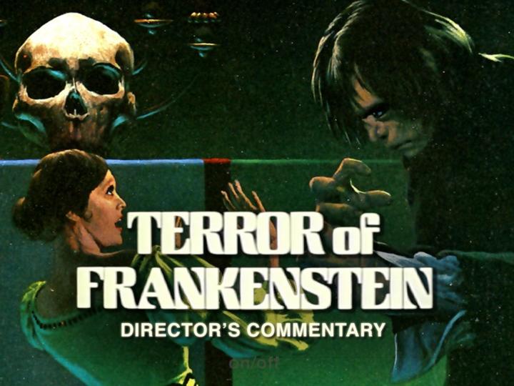 Director's Commentary Terror of Frankenstein