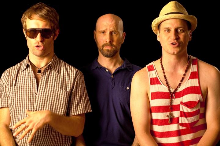 DO I SOUND GAY - 2015 FILM STILL - Fantasy Sequence, David on Fire Island Train - Photo Credit: IFC Films