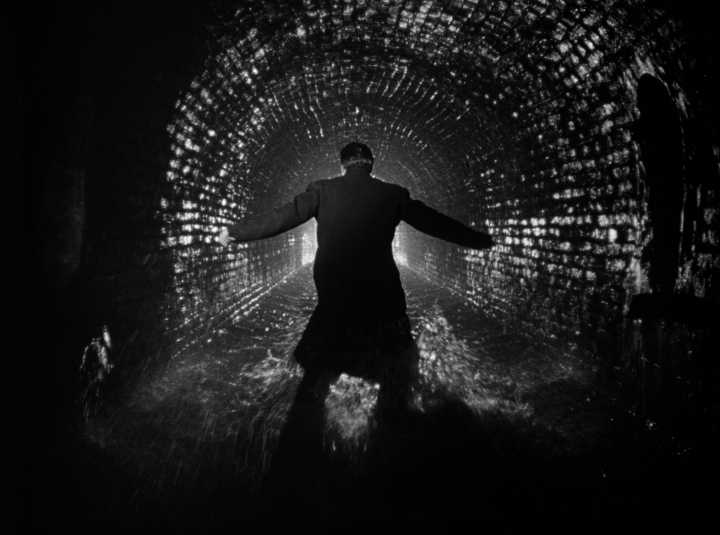 Orson Welles in Carol Reed's THE THIRD MAN (1949). Courtesy: Rialto Pictures / Studiocanal