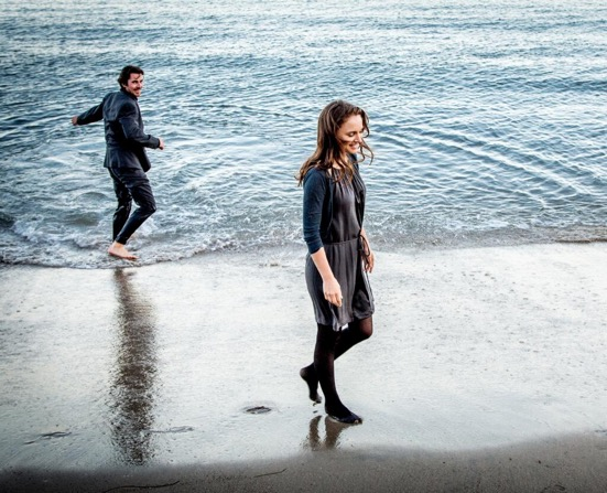 "Christian Bale and Natalie Portman in ""Knight of Cups"" ©Broad Green Pictures"