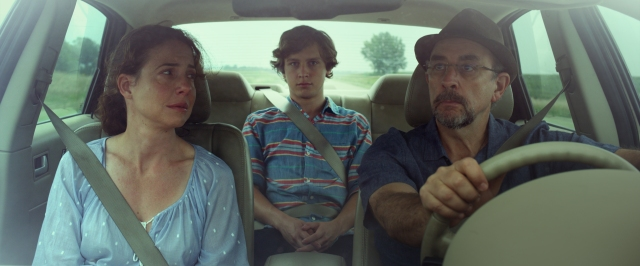 Robin Weigert, Logan Miller and Richard Schiff in 'Take Me to the River' Courtesy of Film Movement