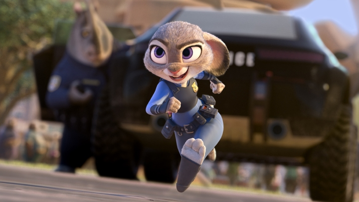 """Zootopia"" stars Judy Hopps who dreams of being the first bunny to join the Zootopia Police Force."