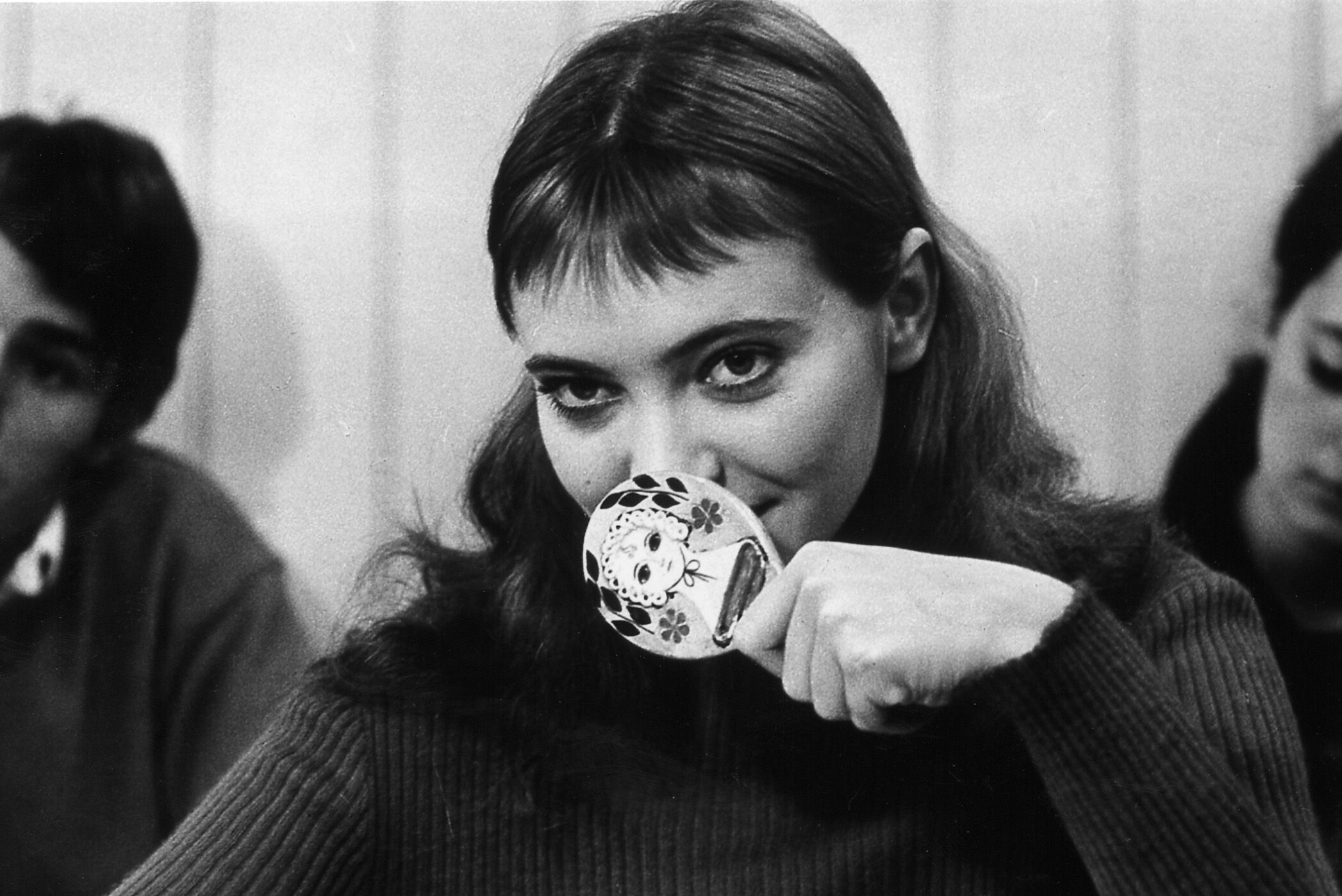 """Anna Karina in """"Band of Outsiders"""" (1965) courtesy of Rialto Pictures"""
