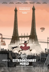 April and the Extraordinary World - Poster