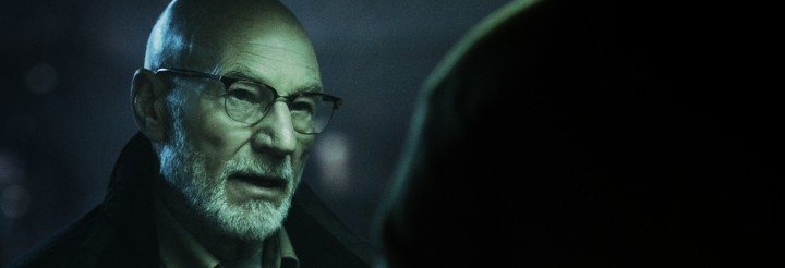 "Patrick Stewart in ""Green Room"" courtesy of A24"