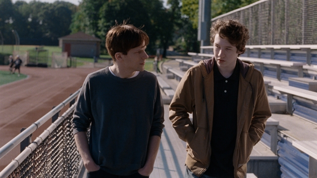 "Jessie Eisenberg and Devin Druid in 'Louder Than Bombs"" courtesy of The Orchard"