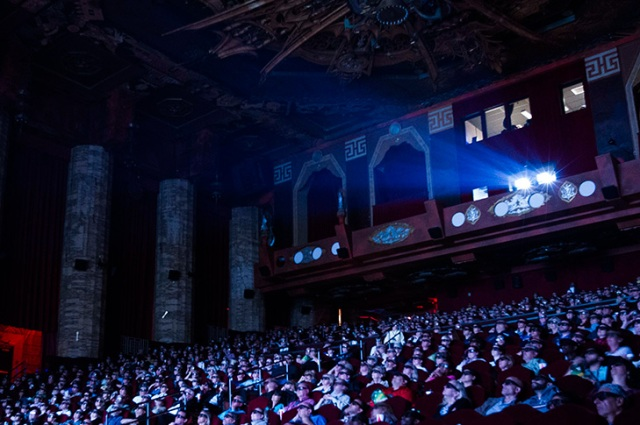 The Egyptian Theater at TCMFF. Image courtesy of  Turner Broadcasting
