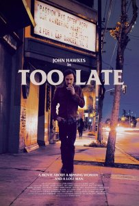 Too Late - Poster
