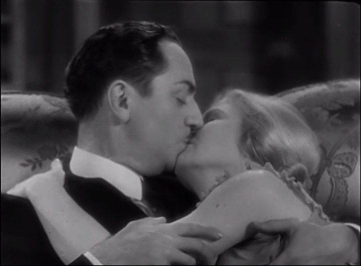 "William Powell and Ann Harding in ""Double Harness"" (1933)"