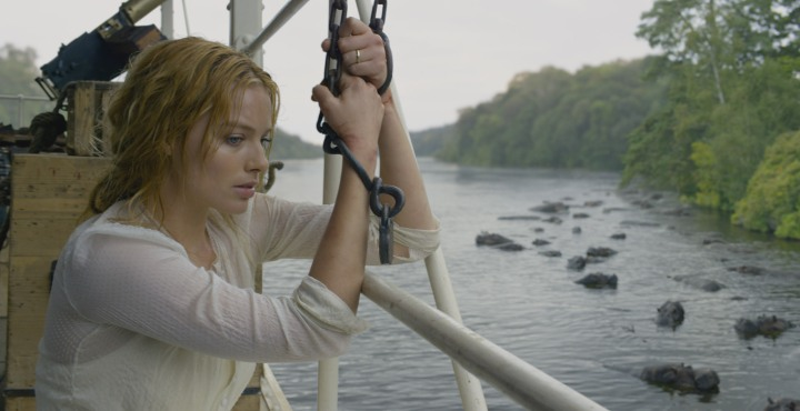 "MARGOT ROBBIE as Jane in Warner Bros. Pictures' and Village Roadshow Pictures' action adventure ""THE LEGEND OF TARZAN,"" distributed worldwide by Warner Bros. Pictures and in select territories by Village Roadshow Pictures. © 2016 EDGAR RICE BURROUGHS, INC., WARNER BROS. ENTERTAINMENT INC., VILLAGE ROADSHOW FILMS NORTH AMERICA INC. AND RATPAC-DUNE ENTERTAINMENT LLC - U.S., CANADA, BAHAMAS & BERMUDA.  © 2016 EDGAR RICE BURROUGHS, INC., WARNER BROS. ENTERTAINMENT INC., VILLAGE"