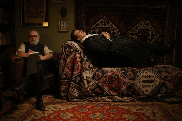 "Karl Fischer & Tobias Moretti in ""Therapy for a Vampire"" Courtesy of Music Box Films"
