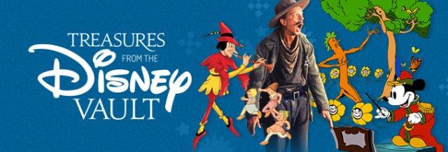 Treasures from the Disney Vault - Header