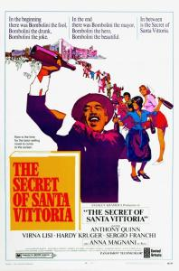The Secret of Santa Vittoria - Poster