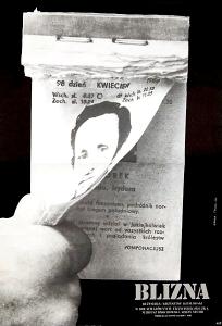 Polish poster designed by Andrzej Krauze and Tomasz Sikora