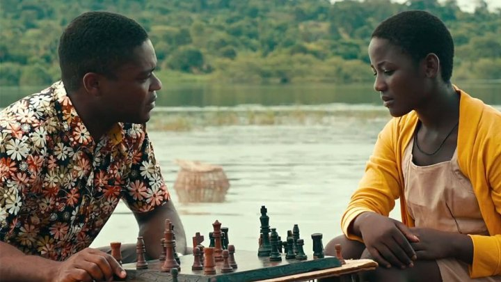 David Oyelowo and Madina Nalwanga in Disney's QUEEN OF KATWE