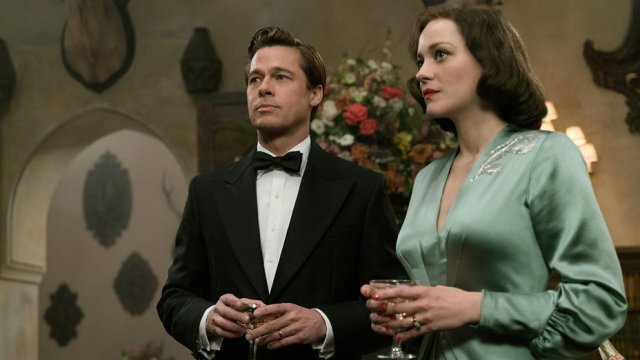 Brad Pitt and Marion Cotillard in Paramount's Allied