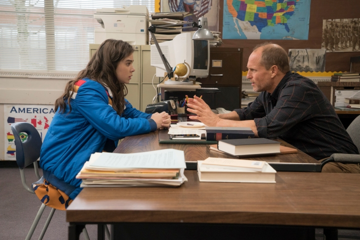 Hailee Steinfeld and Woody Harrelson in STX Entertainment's THE EDGE OF SEVENTEEN